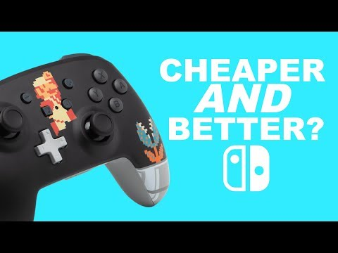 the cheaper Nintendo Switch Pro Controller
