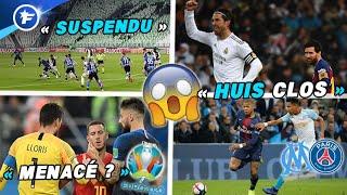 OM-PSG, Euro 2020, Liga, Serie A ; le foot européen menacé par le coronavirus | Revue de presse