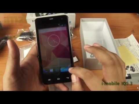 คลิปแกะกล่อง i-mobile IQ 5.3 Quad Core 12.GHz แบต 3,000 mAh หน้าจอขนาด 5 นิ้ว ราคา 6,390 บาท