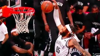 This Nets DeAndre' Bembry Dunk in Slo-Mo 🤯