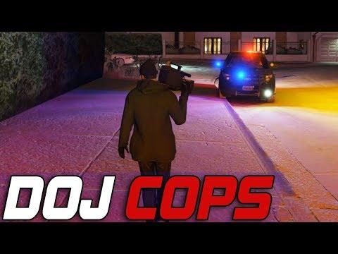 Dept. of Justice Cops #604