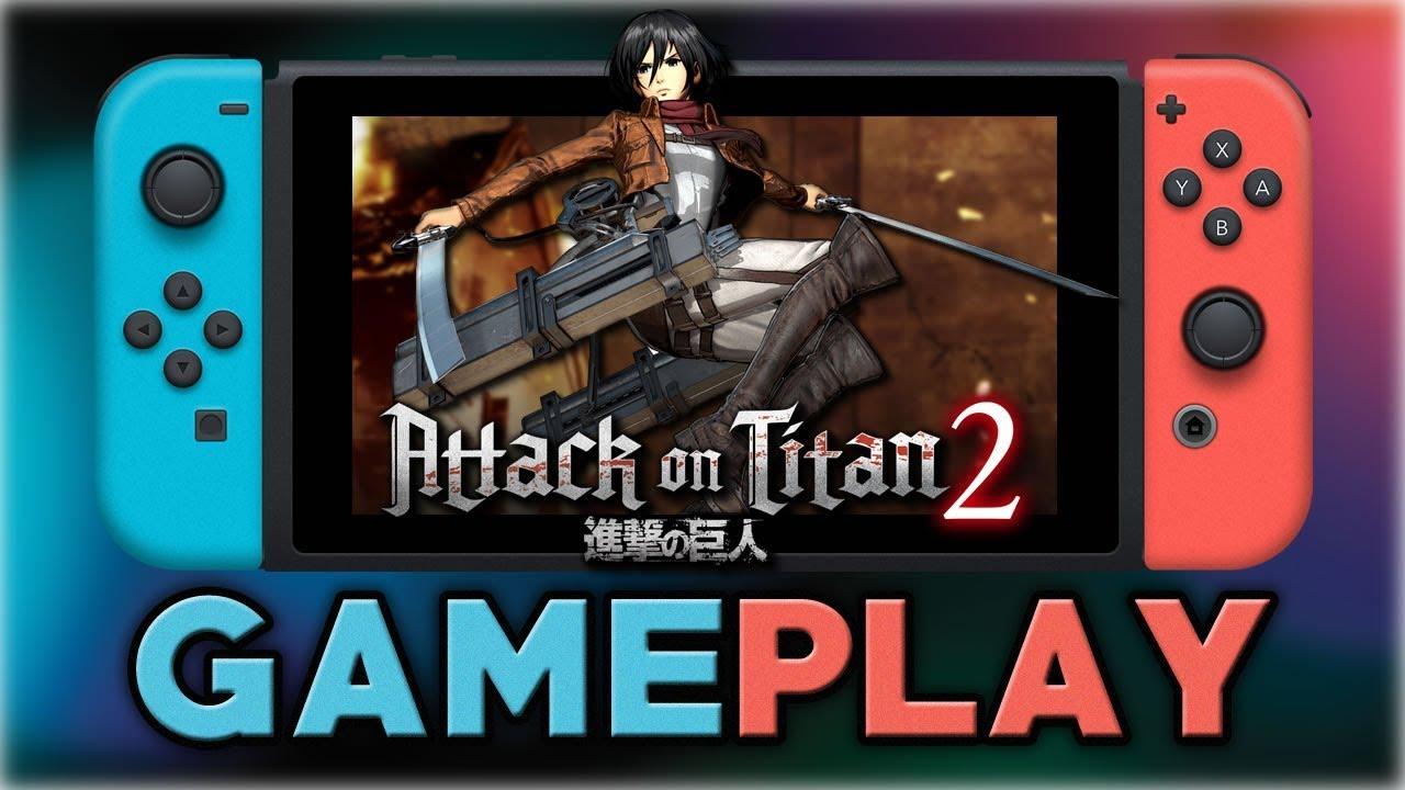 Attack on Titan 2   Mikasa Gameplay   Nintendo Switch ...