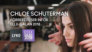 Se Chloé Schutermans galalook inför ELLE-galan 2018!