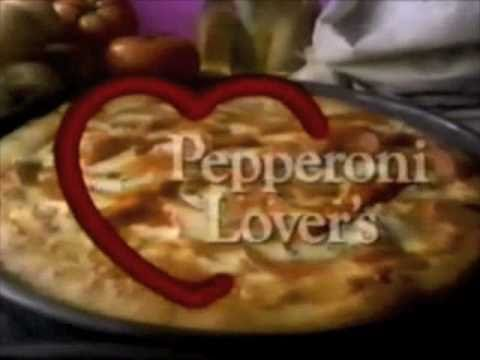 "Pizza Hut ""Lover's"" commercial (short version) - 1990"