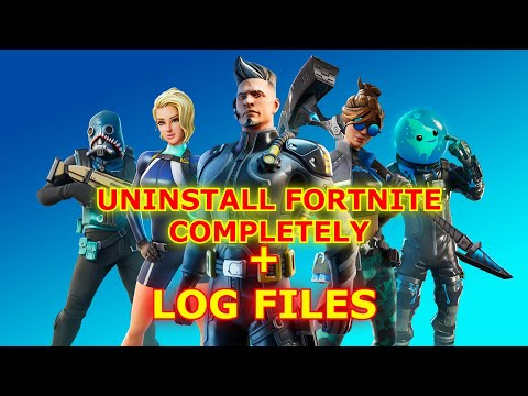 How To Uninstall Fortnite Completely ( Including Inner Files ) That Does Not Delete.