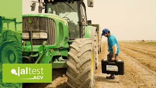 JALTEST CASE STUDY | Calibration of the cab suspension in a John Deere 6920 tractor