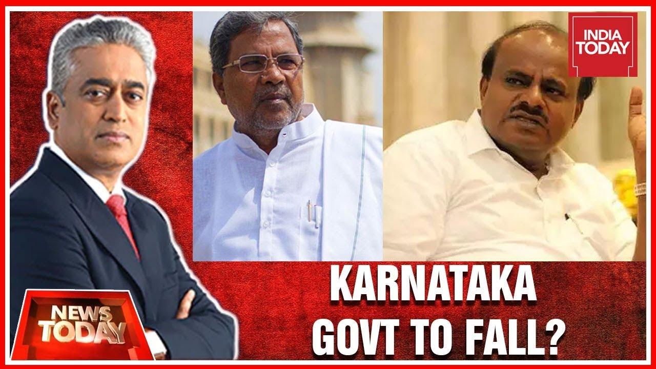 Is Collapse Of Congress-JDS Govt in Karnataka Inevitable?   News Today With  Rajdeep