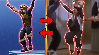 NEW JUBILATION DANCE IN REAL LIFE !! // FORTNITE NEW EMOTE IN REAL LIFE !