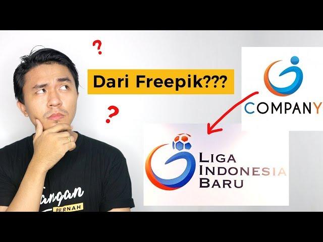 Bolehkah Menggunakan Desain Logo dari Freepik? | Bedah Logo PT LIB
