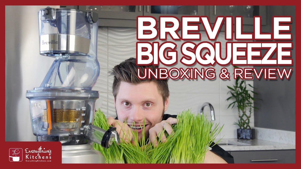 Glimrende Breville Big Squeeze Slow Juicer Review, Unboxing & Test - BJS700 VG-62