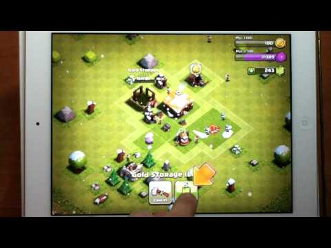 iPad 4 Games - Clash of Clans NEW
