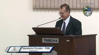 30ª Sessão Ordinária - Vereador Vanderlei Pinatto