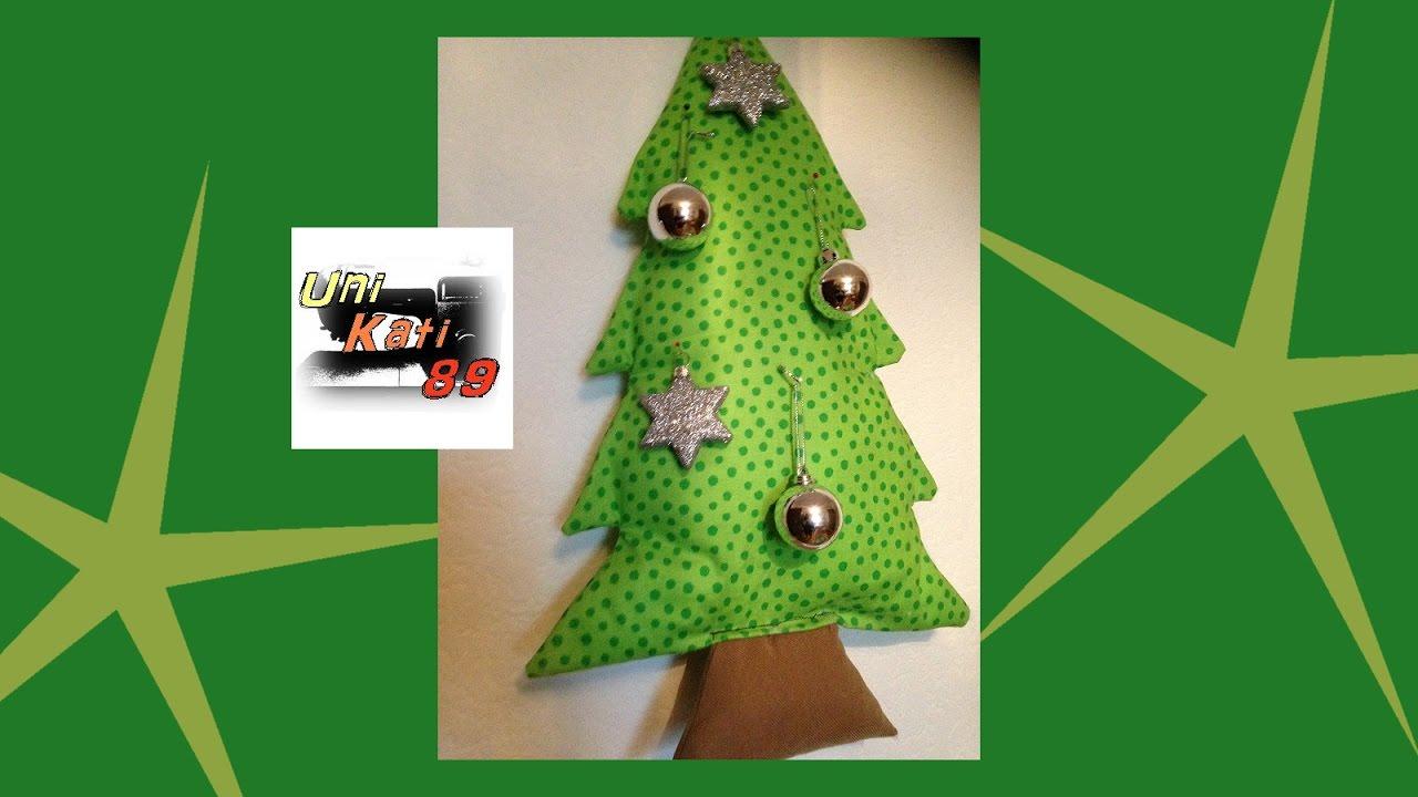 tannenbaum rossi n hen schnittmuster weihnachten kissen deko weihnachtsbaum diy unikati89 youtube. Black Bedroom Furniture Sets. Home Design Ideas