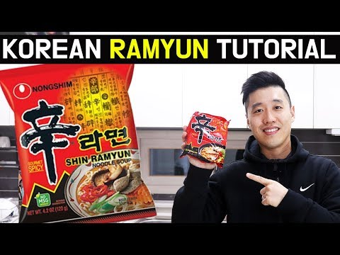 How To Make Korean Ramen Perfectly Ramyun Recipe Perfect Ramyeon Tutorial Shin Ramyun