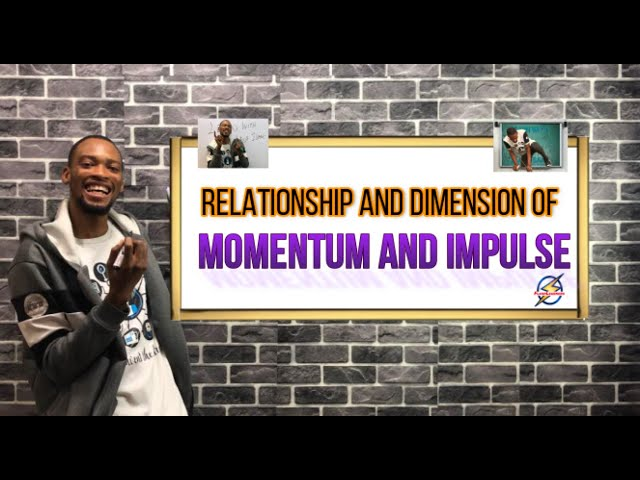 Dimension of Momentum and Impulse