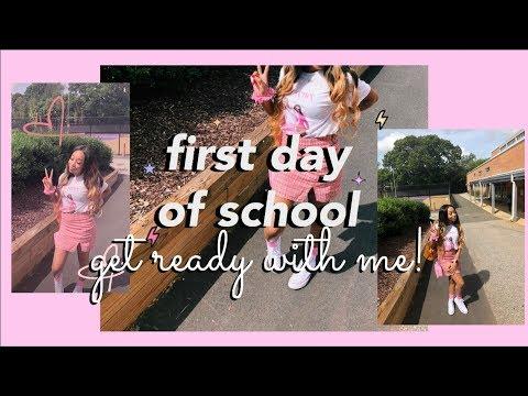 FIRST DAY OF SCHOOL GRWM! ⎪Sophomore Year