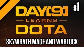 Day[9] Learns Dota - Skywrath Support Replay Review + Game, Warlock Support