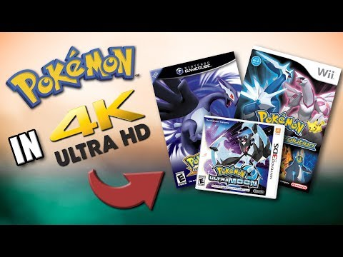 WHAT HAPPENS WHEN YOU PLAY POKEMON GAMES IN 4K?