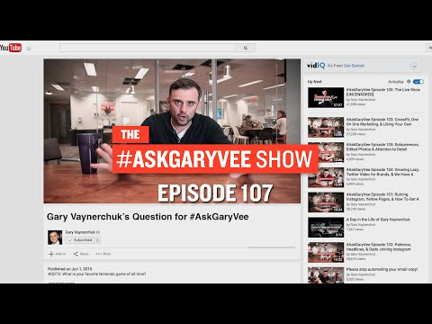 AskGaryVee Episode 107: Long Instagram Captions, Museums, & Gary Asks Himself A Question