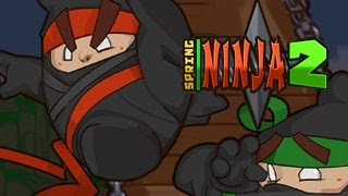 Spring Ninja 2 Level1-13 Walkthrough