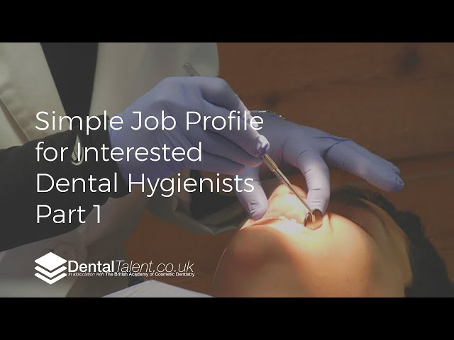 🆕 Our Simple Job Profile For Interested Dental Hygienists Part 1 Dental Hygienist Jobs Must Watch!