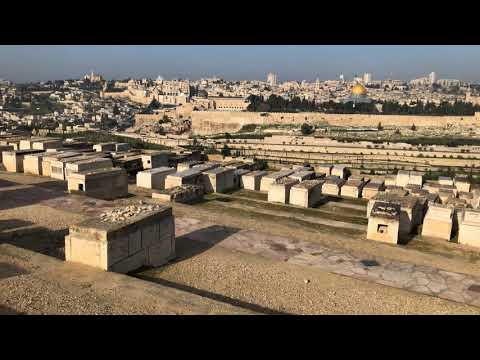 Jewish Cemetery, Mount Of Olives, Israel