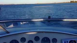 Выход в лиман..управление лодкой супер