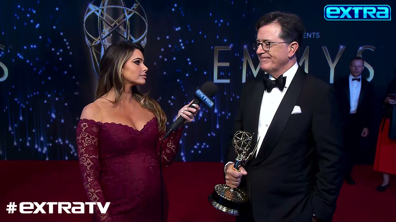 Stephen Colbert invited Conan O'Brien to crash Emmy's stage, then ...