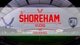 Shoreham View Vlog - Sheffield United VS Chesterfield 16/17 FOUR, AGAIN!?