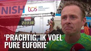Tienduizenden Lopen De Amsterdam Marathon