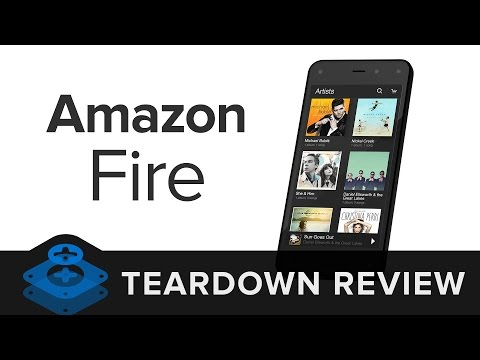 Amazon Fire Phone Teardown Review