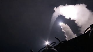 Syria war: US launches missile strikes in response to chemical