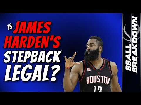 Is James Harden's Stepback LEGAL???