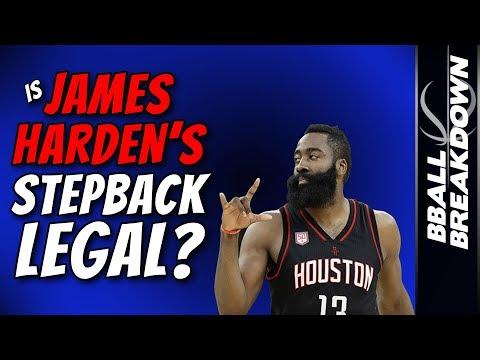 Is James Harden's Stepback LEGAL???