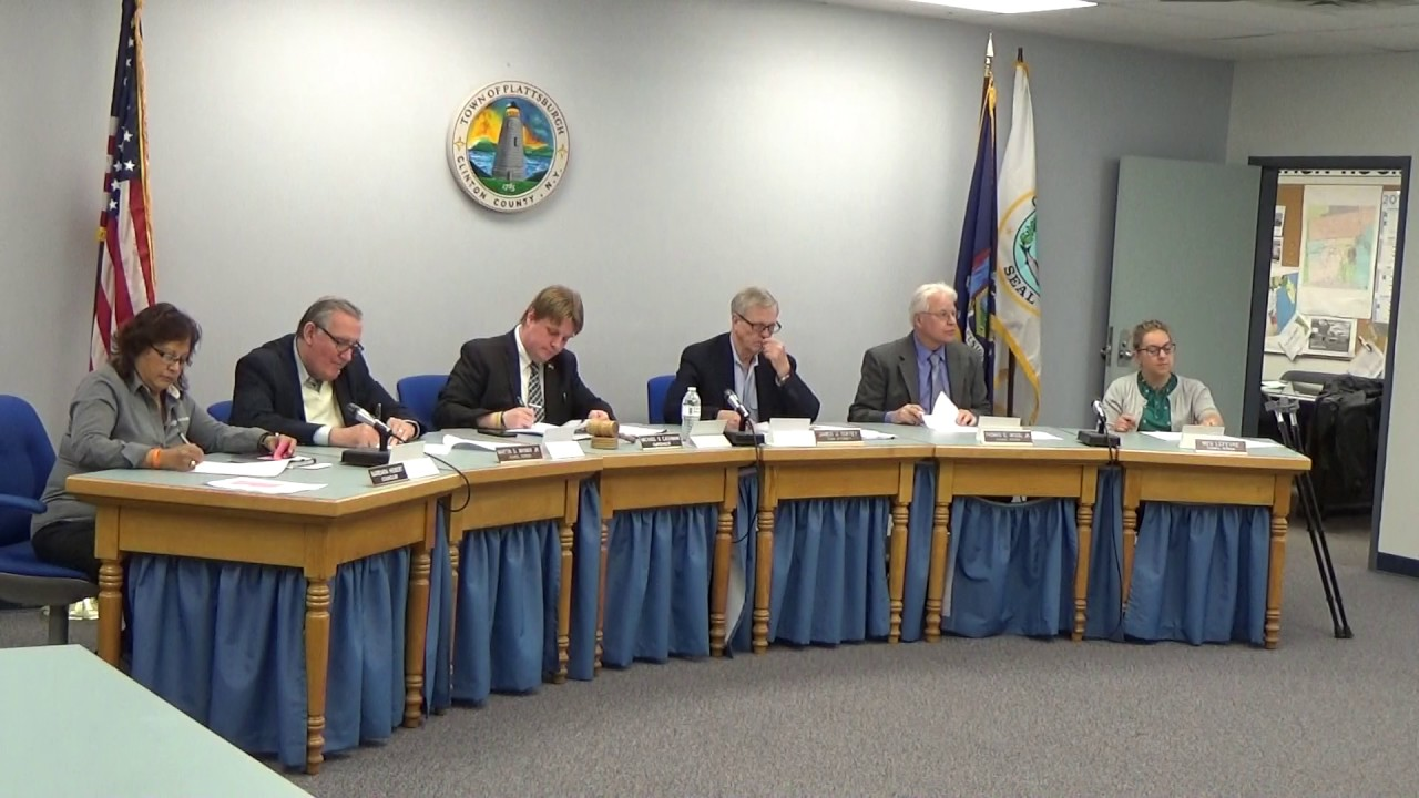 Town of Plattsburgh Meeting  4-20-27