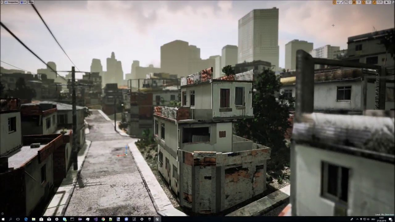 High-End 3D Visualization with CityEngine, Unity and Unreal