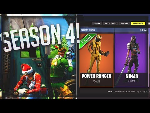 @[NEW Fortnite Season 4 CountDown][*Scammer Gets Scammed] *Playing,W,Unknown{}{}Hype!!*300 SUBS*