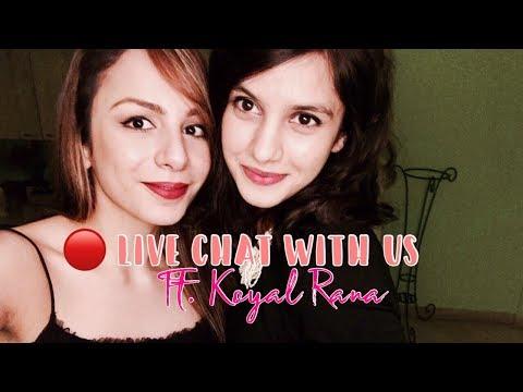 #NITIBHALIVE :1 Live chat with MISS INDIA koyal rana