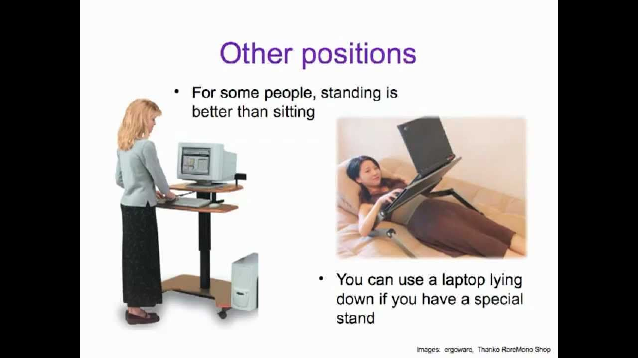 Computer Ergonomics - What's That? - YouTube