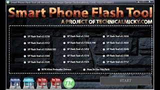 Smart Phone Flash Tool (All Version) in Pack | All in One | SP Flash Tool