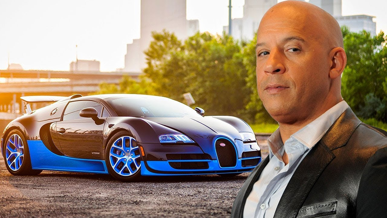 Vin Diesel - Cars Collection 2017-2018 - YouTube