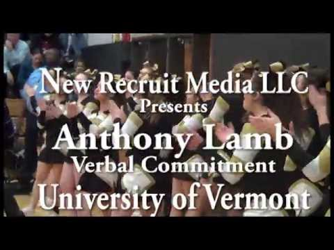 New Recruit Sports LLC Presents: Anthony Lamb Commits to University of Vermont