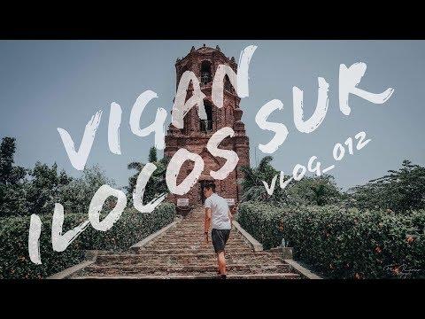 VIGAN, ILOCOS SUR. PHILIPPINES (TOP 5 DESTINATIONS) VLOG_012