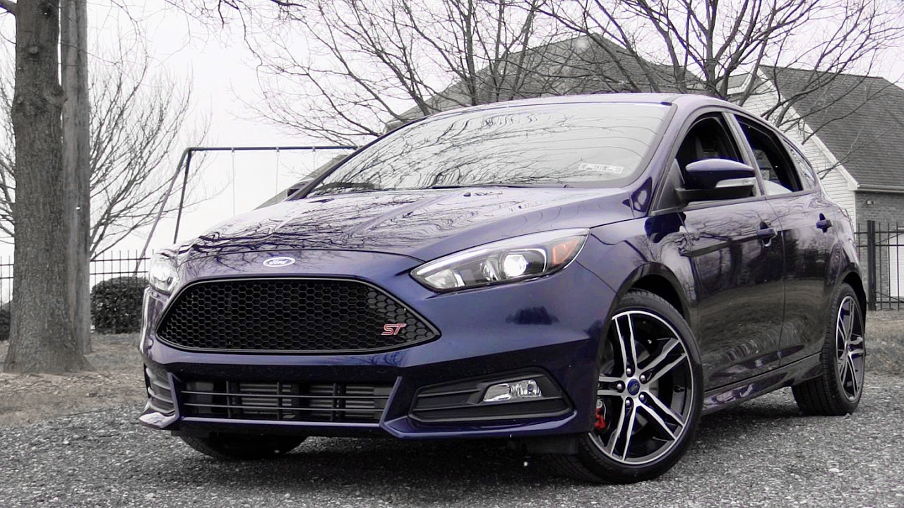 2017 ford focus st review youtube. Black Bedroom Furniture Sets. Home Design Ideas
