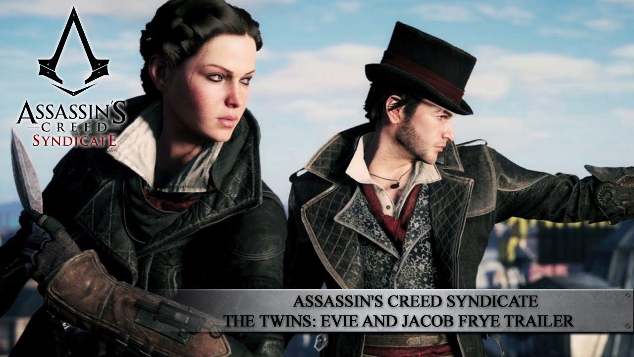 Assassin's Creed Syndicate《刺客教條:梟雄》雙胞胎姊弟伊薇與雅各.弗萊 / The Twins Trailer [中文字幕] - Ubisoft SEA ...