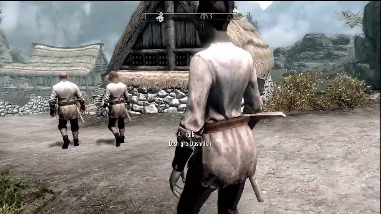 Skyrim Easy Orc Stronghold Access In Karthwasten Youtube