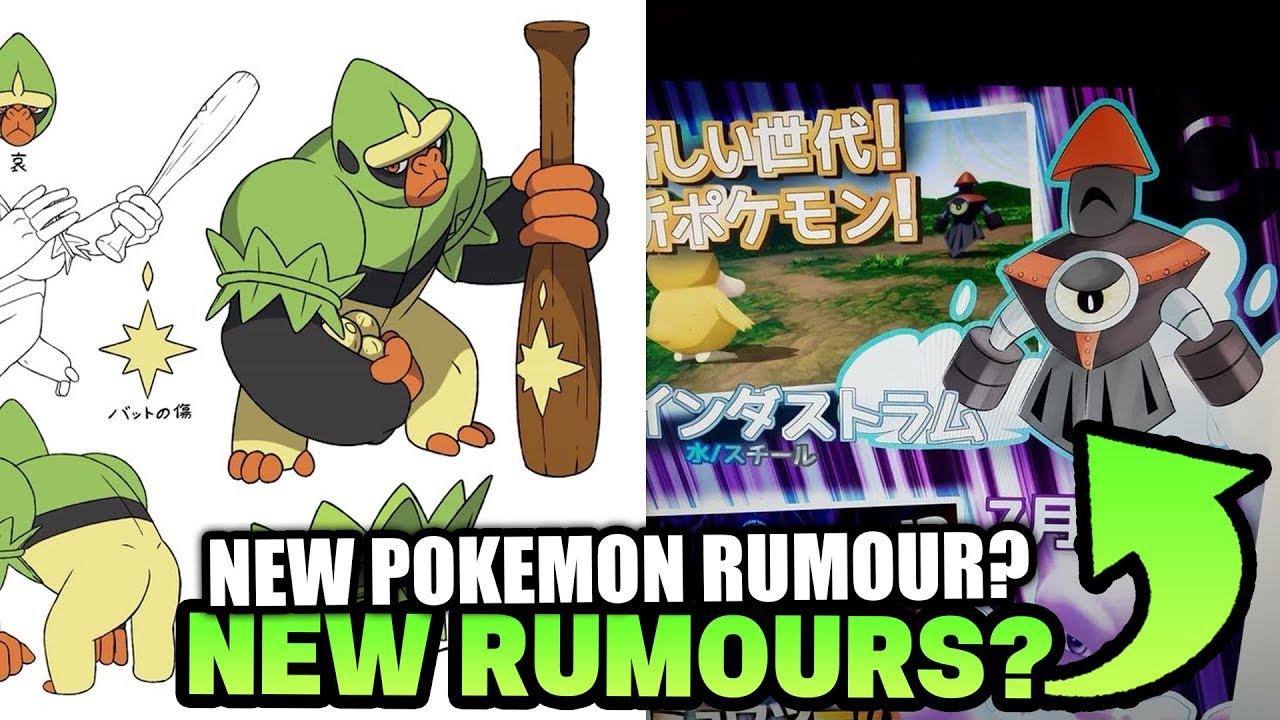 New Pokemon Sword And Shield Rumours Evolution For Grookey Rumour