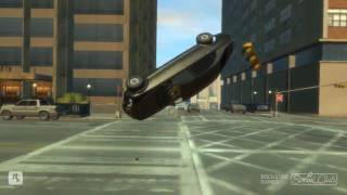 GTA 4 -Slow Motion Crashes Part 1 (HD)