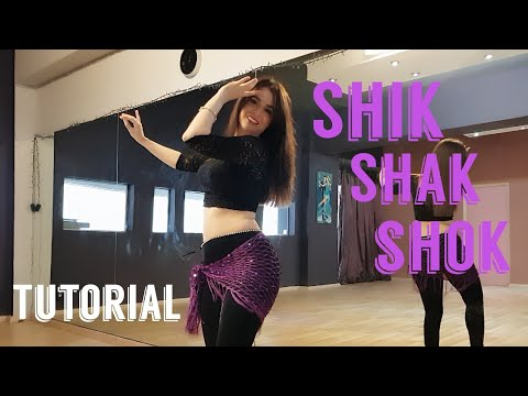 Shik Shak Shok Tutorial - Bellydance Choreo. Μάθημα Οριενταλ الرقص الشرقي Lia Verra