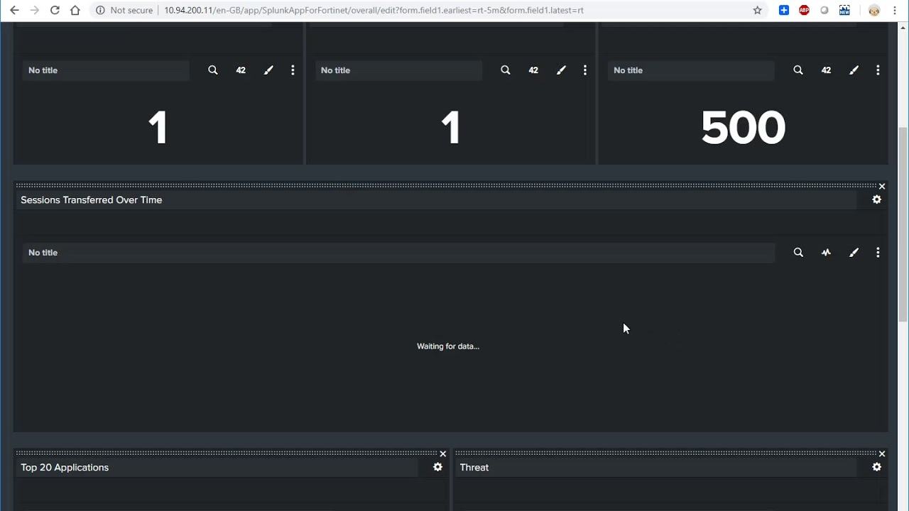 15 Minutes to Configure a Splunk Dashboard for Fortigate Firewalls by Netsec
